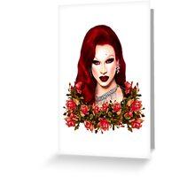 Miss Fame Greeting Card