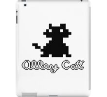ALLEY CAT - DOS PC GAME iPad Case/Skin