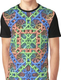 Knitted One - 3-D Fractal Graphic T-Shirt