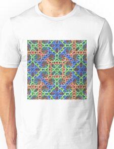 Knitted One - 3-D Fractal Unisex T-Shirt