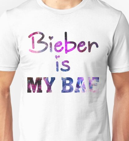 Bieber Is My Bae - Justin Bieber  Unisex T-Shirt
