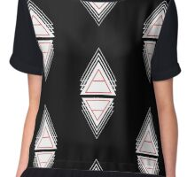 Air&Earth (AV) triangle repeat Chiffon Top