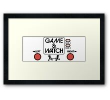 NINTENDO GAME & WATCH Framed Print