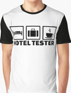 Hotel tester Graphic T-Shirt