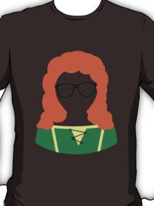 Disney Princesses Geeky Glasses Merida T-Shirt