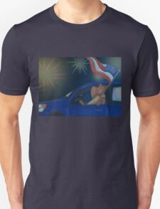 Fireworks Roadtrip Unisex T-Shirt