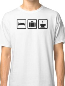 Vacation hotel luggage Classic T-Shirt