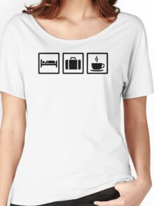 Vacation hotel luggage Women's Relaxed Fit T-Shirt