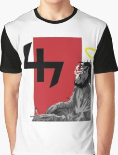 Capital Steez Smoking weed Graphic T-Shirt