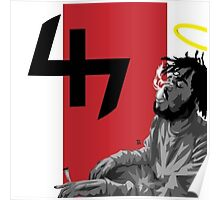 Capital Steez Smoking weed Poster