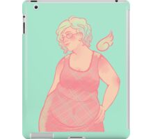 Pastel Aziraphale iPad Case/Skin