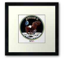 APOLLO 11 - ARMSTRONG-ALDRIN-COLLINS Framed Print