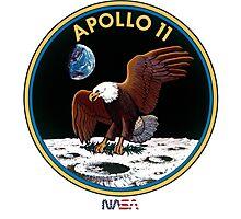 APOLLO 11 - ARMSTRONG-ALDRIN-COLLINS Photographic Print