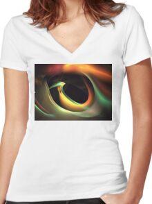 Bird's Eye Women's Fitted V-Neck T-Shirt