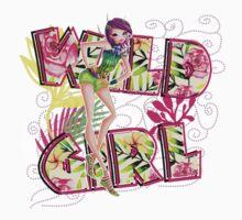Wild Girl Rose - Tecna Baby Tee