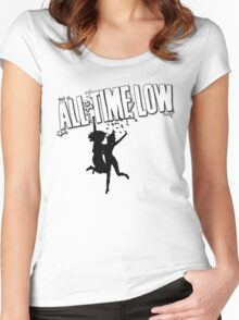 All Time Low: So Wrong It's Right Women's Fitted Scoop T-Shirt