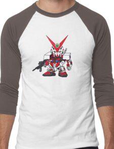 Mini Gundam 2 Men's Baseball ¾ T-Shirt