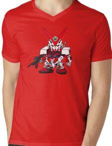 Mini Gundam 2 Mens V-Neck T-Shirt