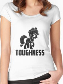AppleJack - Toughness Women's Fitted Scoop T-Shirt