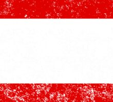 Distressed Austria Flag Sticker