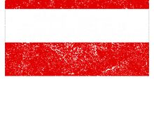 Distressed Austria Flag by kwg2200