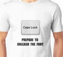 Caps Lock Unisex T-Shirt