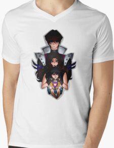 Undertale x Yugioh Mens V-Neck T-Shirt