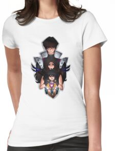 Undertale x Yugioh Womens Fitted T-Shirt