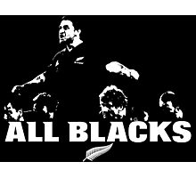 ALL BLACKS RUGBY NZ (2) Photographic Print