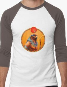 Pharaoh's Bird  Men's Baseball ¾ T-Shirt