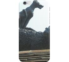 Leapfrogging Fox!! iPhone Case/Skin