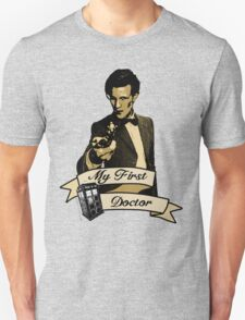 My first Doctor (Who) Eleventh 11th Matt Smith T-Shirt