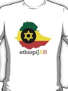 ethiopiJAH BLK T-Shirt