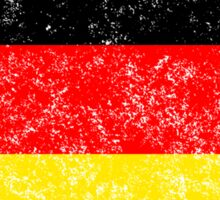 Distressed Germany Flag Sticker