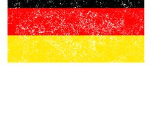 Distressed Germany Flag by kwg2200