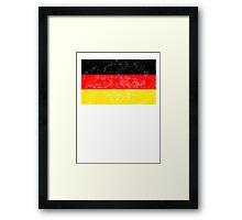 Distressed Germany Flag Framed Print