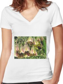 Making A Bee Line Women's Fitted V-Neck T-Shirt