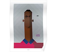 Yannis Salibur - one of the best future football player Poster
