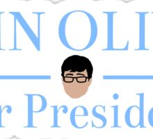 John Oliver For President Sticker