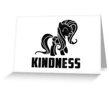 Fluttershy - Kindness Greeting Card