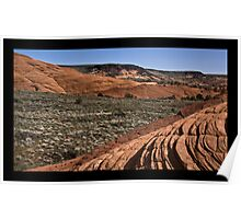 Landscape of Snow Canyon Poster