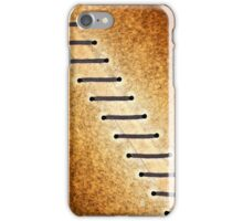 Brown lace iPhone Case/Skin