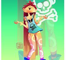 Rock girl by francescomalin