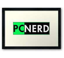 Pc Nerd Framed Print