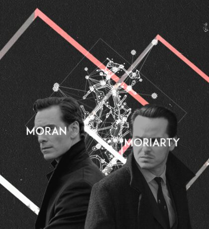moran x moriarty Sticker