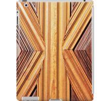 Abstract wood iPad Case/Skin