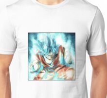 Dragon ball - Goku SSJ blue Unisex T-Shirt