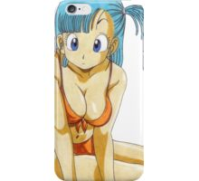 Dragon ball - Bulma iPhone Case/Skin
