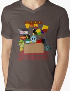 Chao Black Market Mens V-Neck T-Shirt