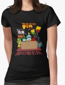 Chao Black Market Womens Fitted T-Shirt